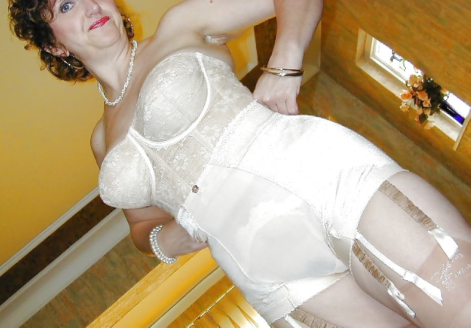Model Shows How To Select And Wear Garterbelts And Girdles