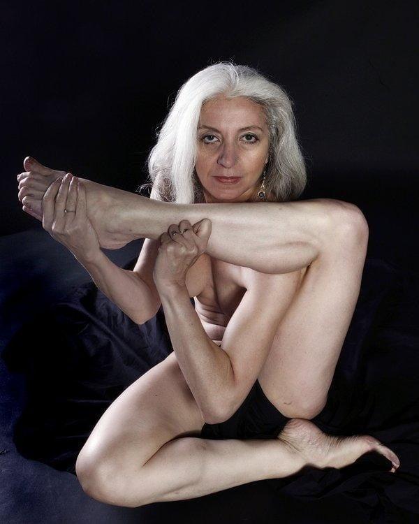 Nude Woman College Professor