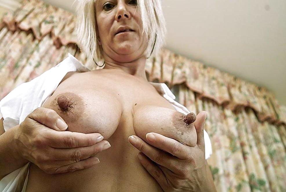 Granny hanna errect hard nipples