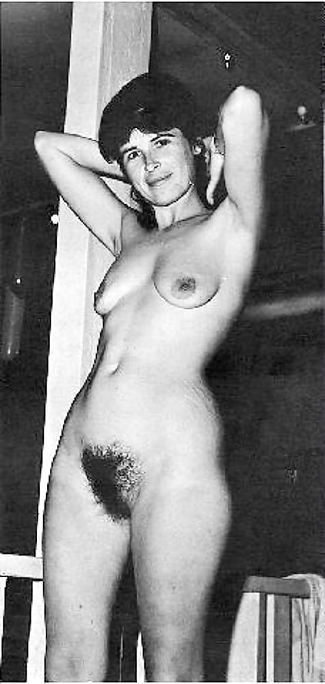 Vintage black hairy pussy