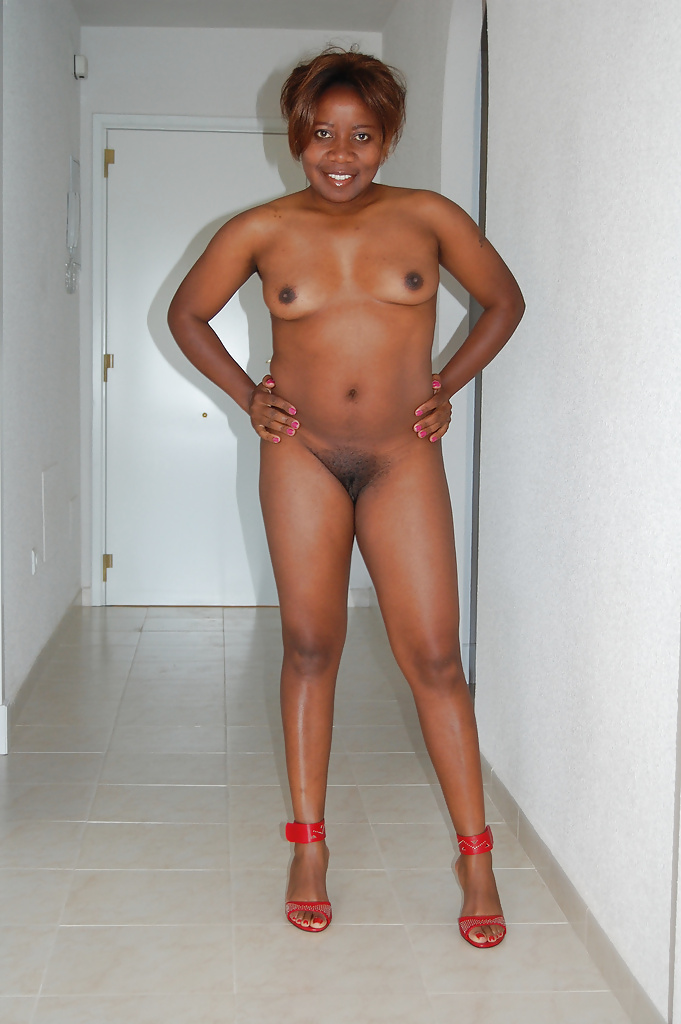 Naked from head to toe