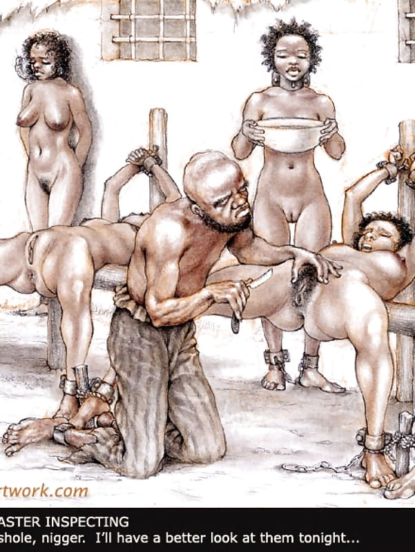 Porn black slave traders