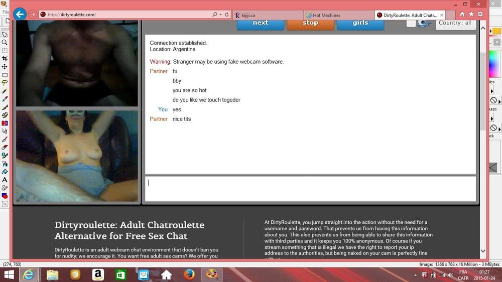 Adult chatroulette