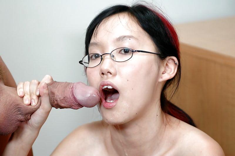 Asian sleeping glasses porn