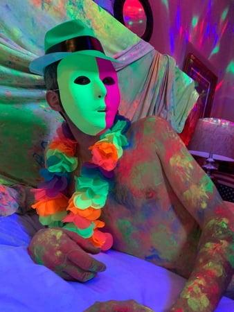 Top Porn Images neon paint porn