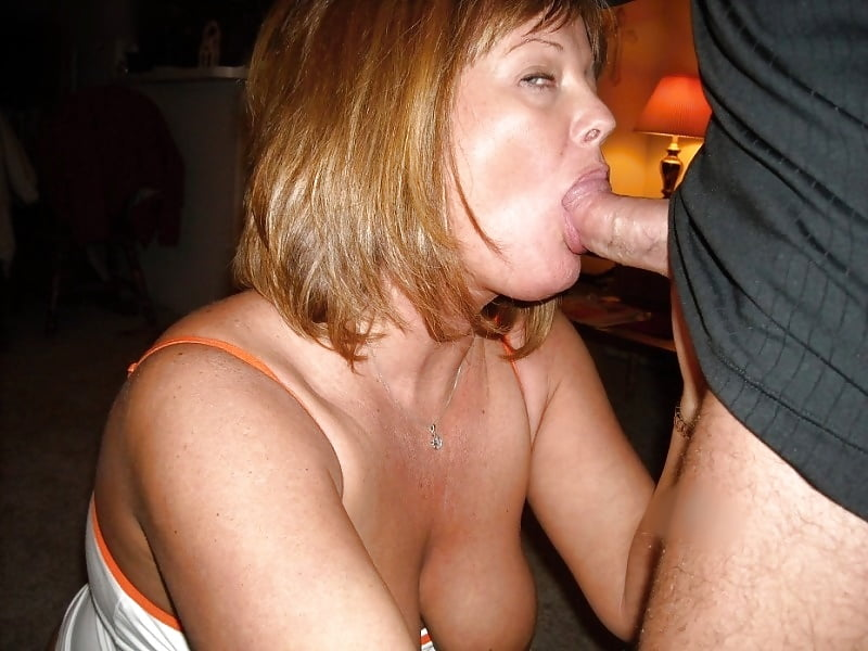 Wife next door blowjob