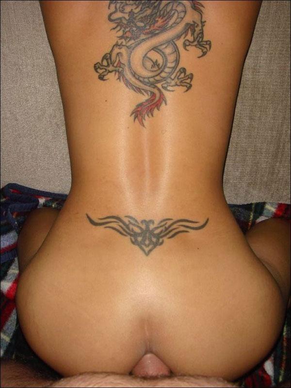 Tattoo on belly free xxx galeries