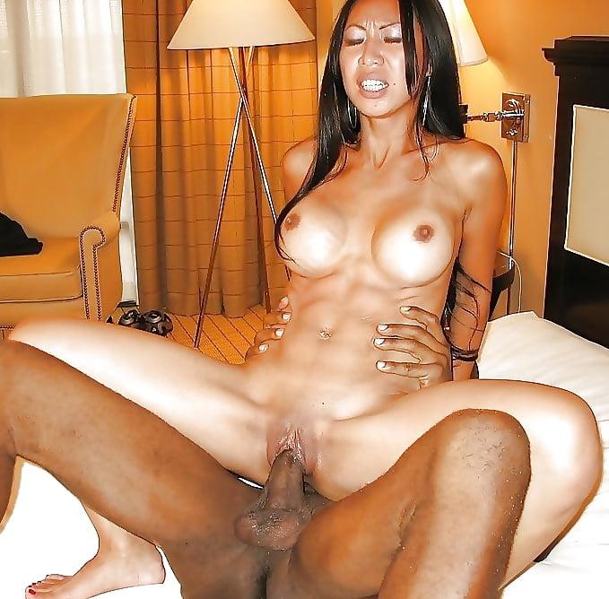 Interracial assfucked brunette