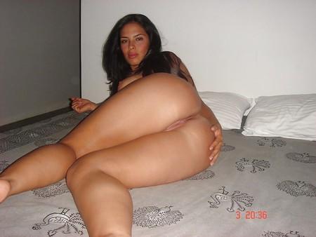 Sexy Brunette Babe Posing
