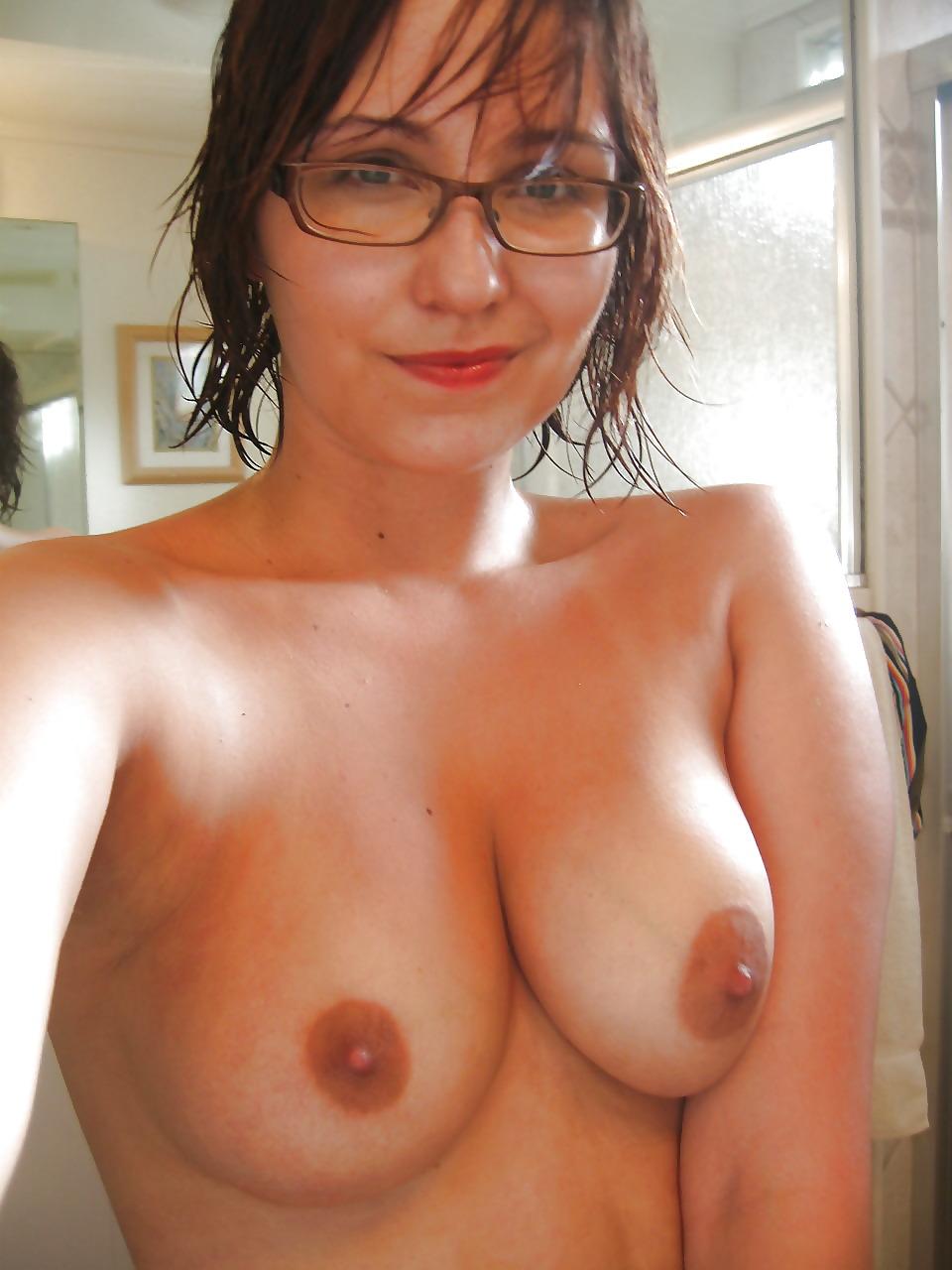 Big tits nerdy girls naked — 7