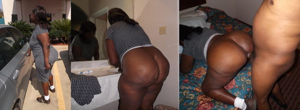 Ebony big ol booty in tele