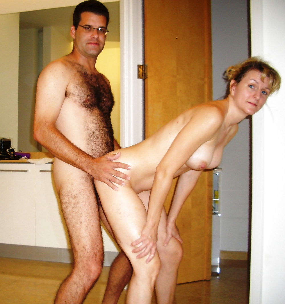 Free real wife getting some big black cock action porn photo