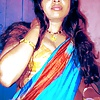 sexy saree aunty cleavages