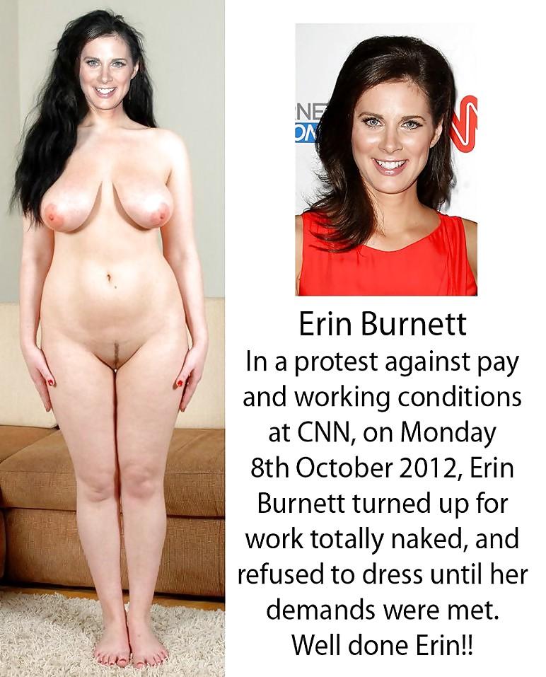 Erin burnett naked