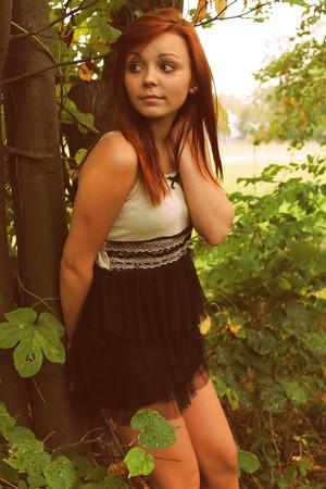 Polish redhead teen Julia