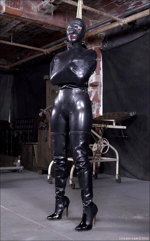 Hd latex rubber xxx