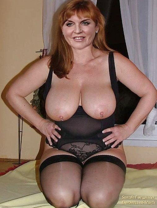 Sarah Ferguson  nackt