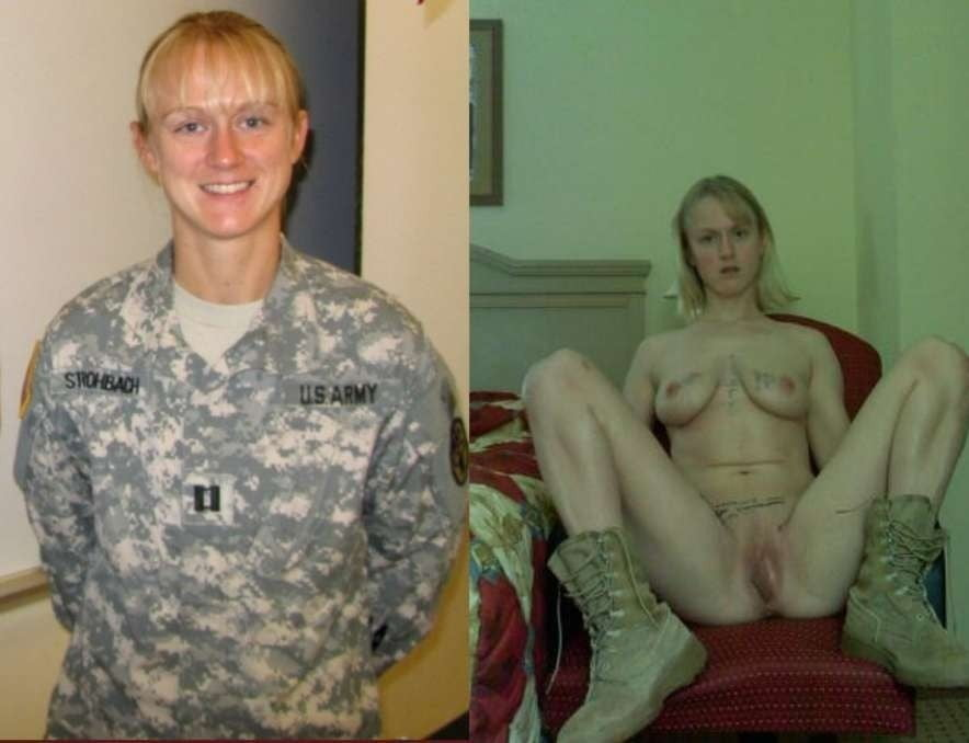 Nude pictures of soldier's wives