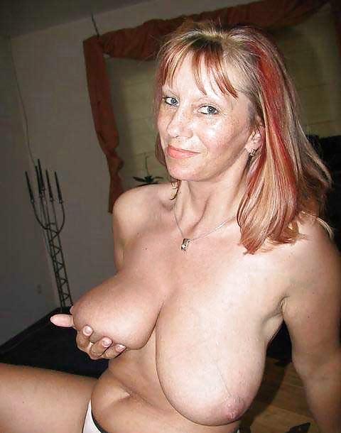 Big tits amateur moms