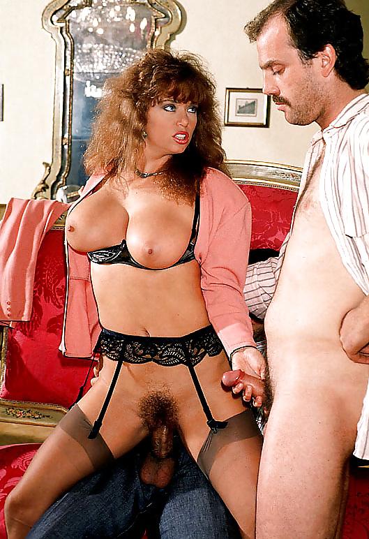 Classic pornstar angel shows off her hot body
