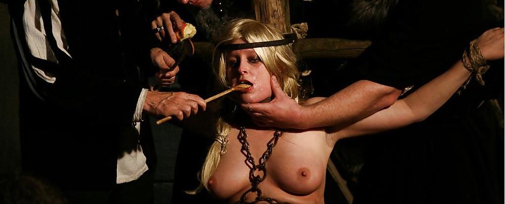 Medieval bondage torture