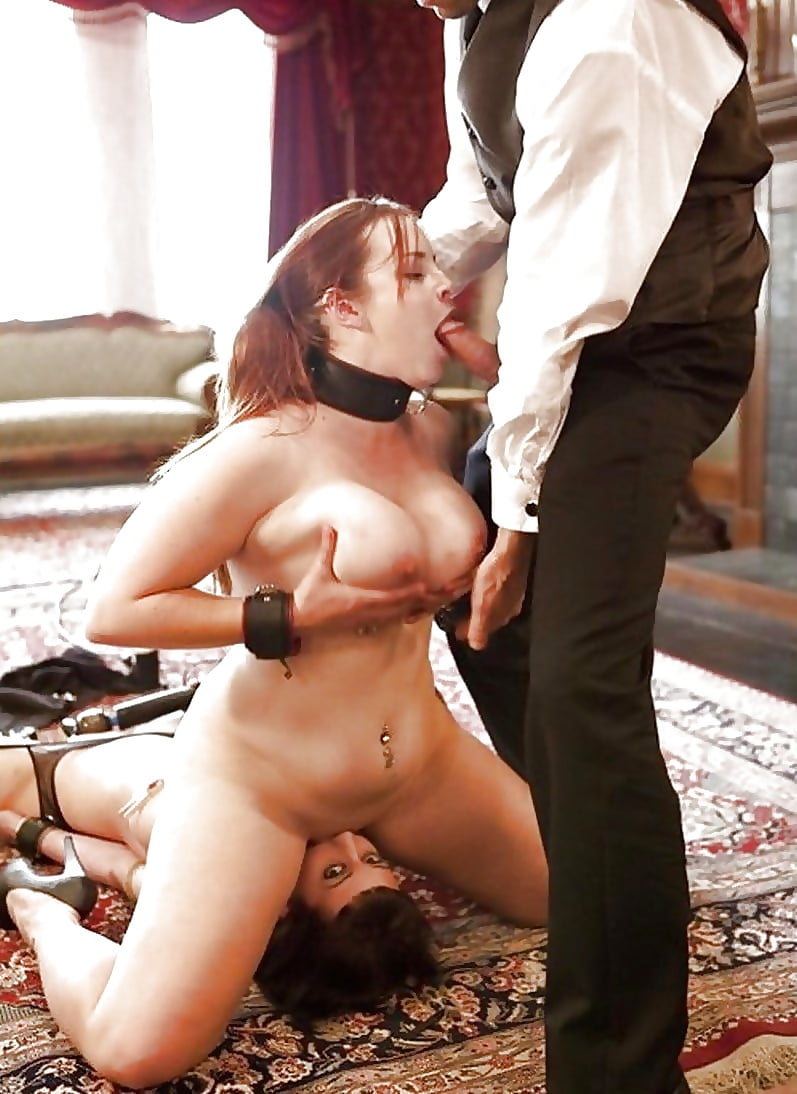 Preggo free sex slave by morgan french model