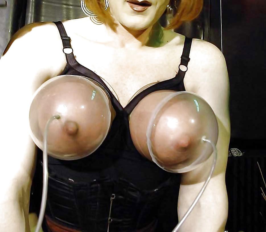 Boob pumping breasts movies