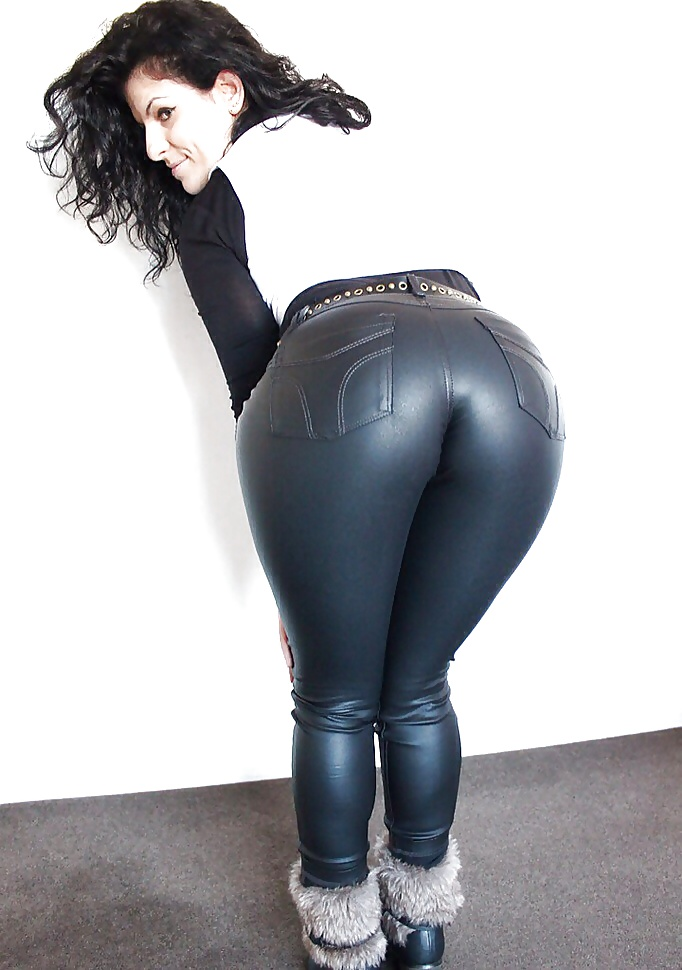 Black ass in jeans