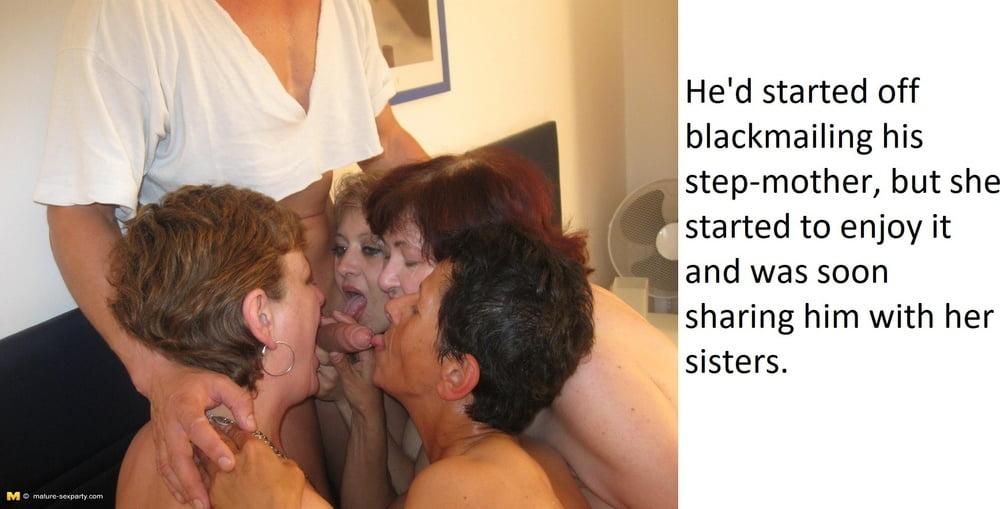 Stepmpther Caption pics