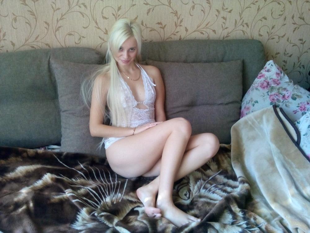 Как кончает русская женщина дома — 11