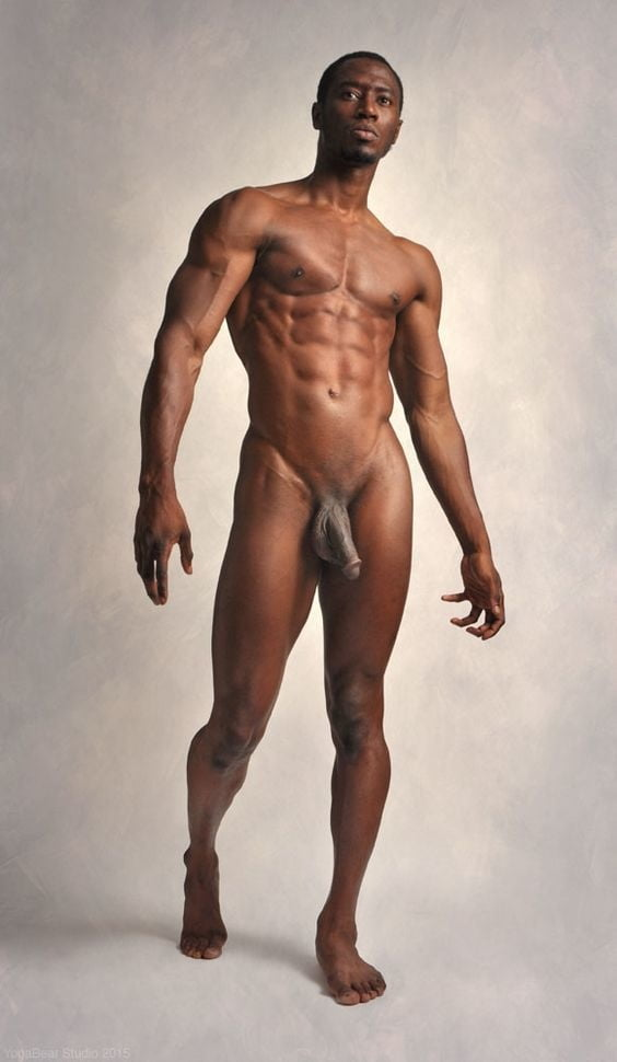 Naked black male fighters photos