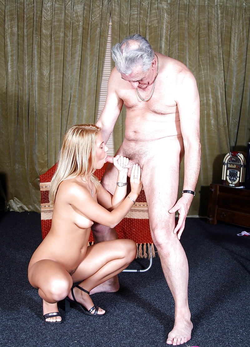любовный секс девушки и старика - 10