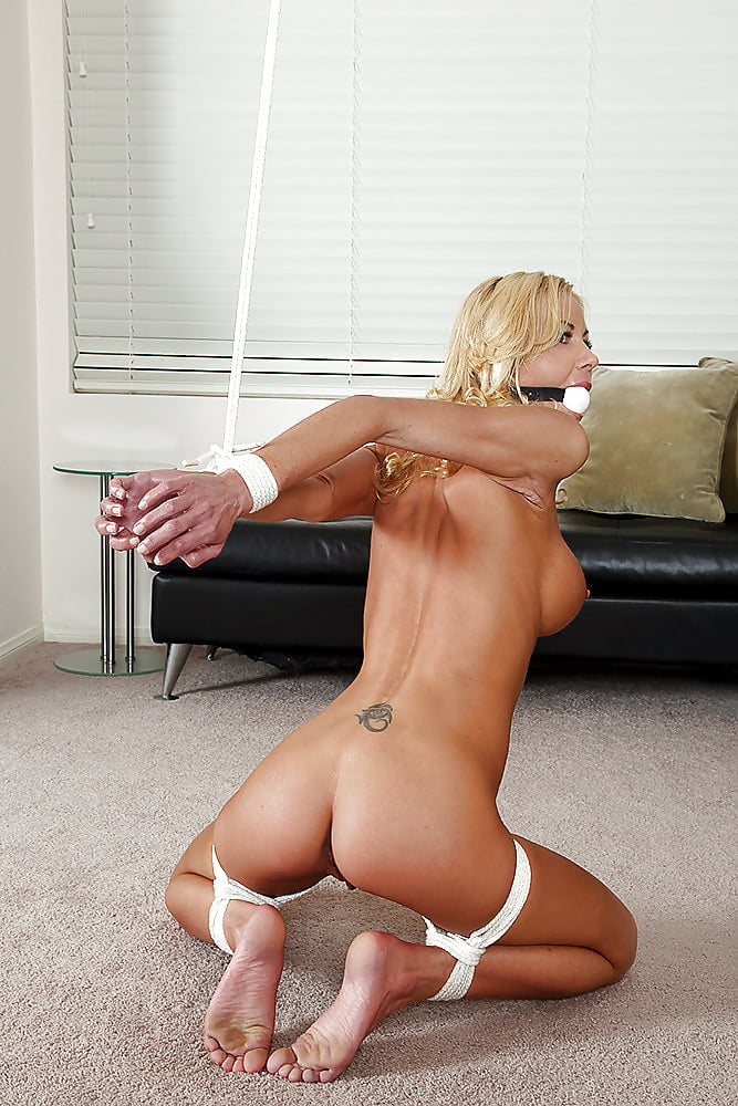 Bondage kneeling