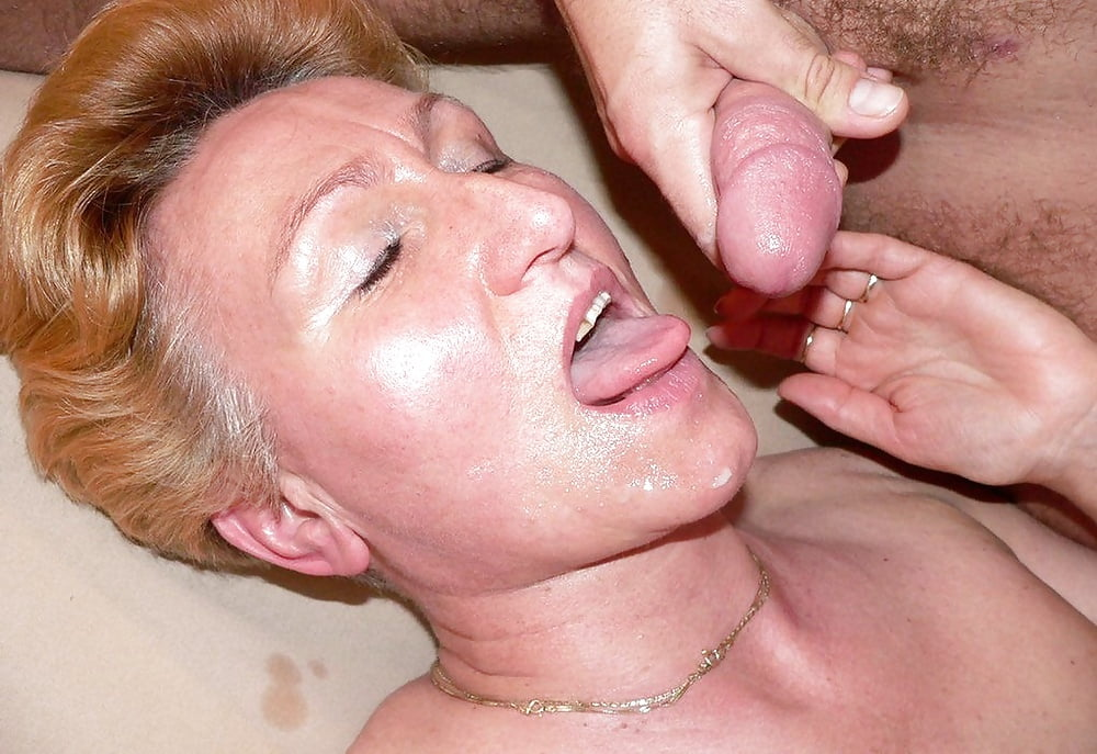 Matures and grannies cummed on