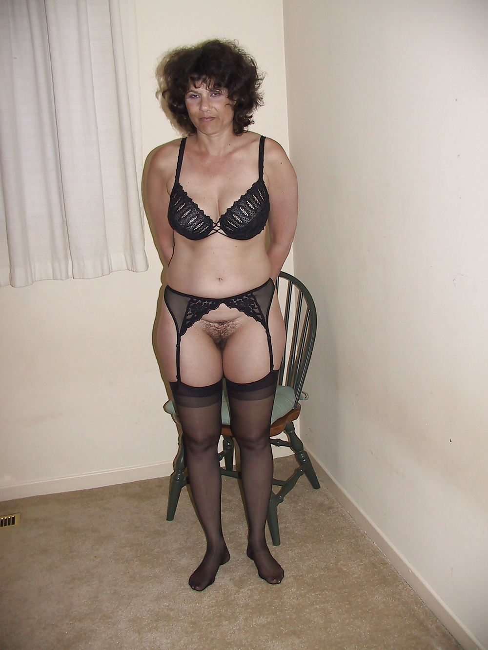 Sexy black lingerie dress-1938