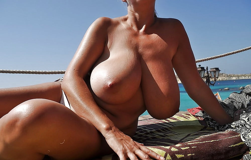 Romanian big tits beach #6