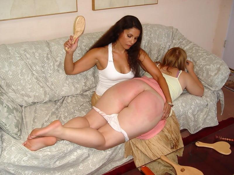 Sexy bbw spanking photo