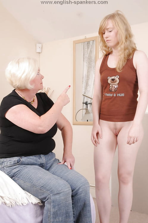 Old older women spank boys