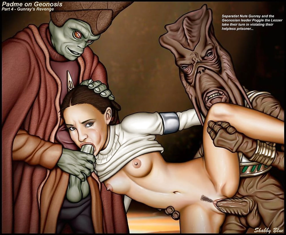 Padme sex comic — img 5