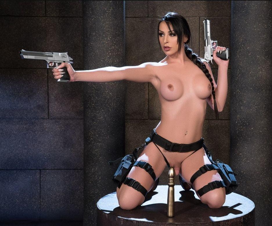 Cosplay Erotica Ginger Danger Girl Gun Suckers Sexy Youtubers 1