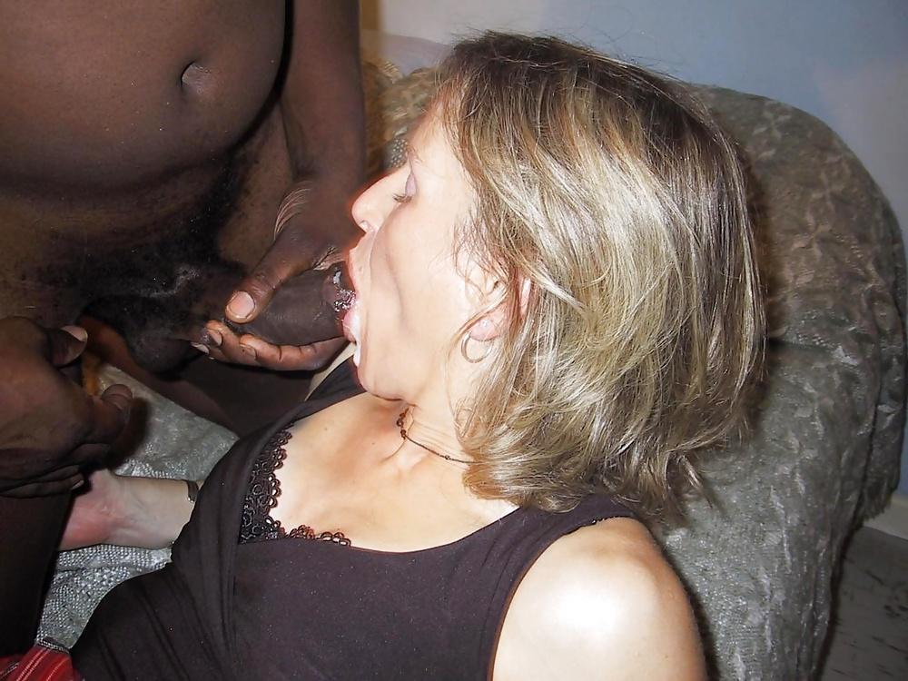 Mature wife begging bbc for cum