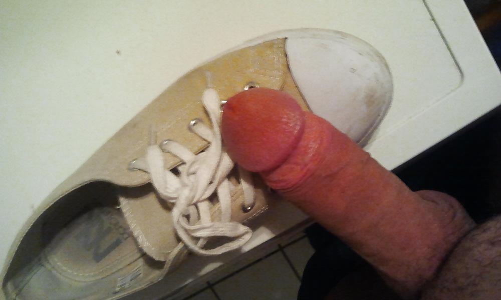Die wichsen in schuhe Schuhe Vollwichsen
