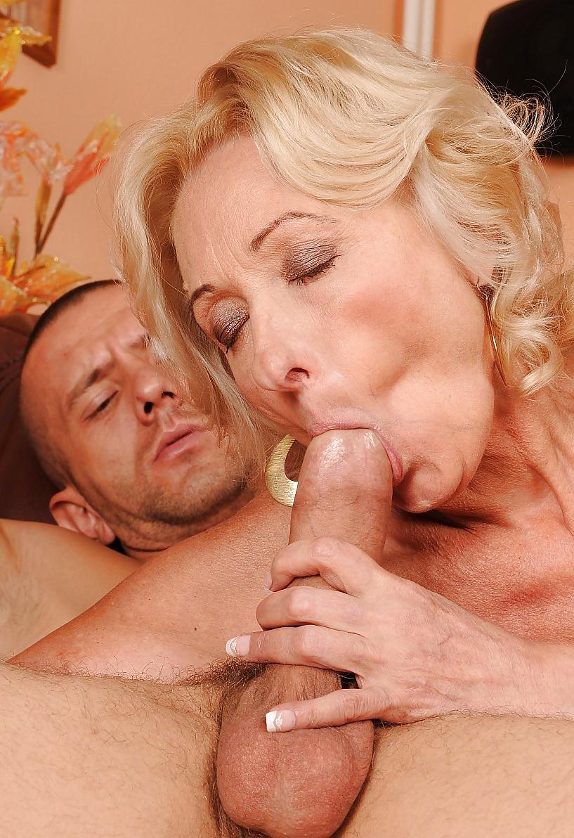 Член зрелых мужей порно