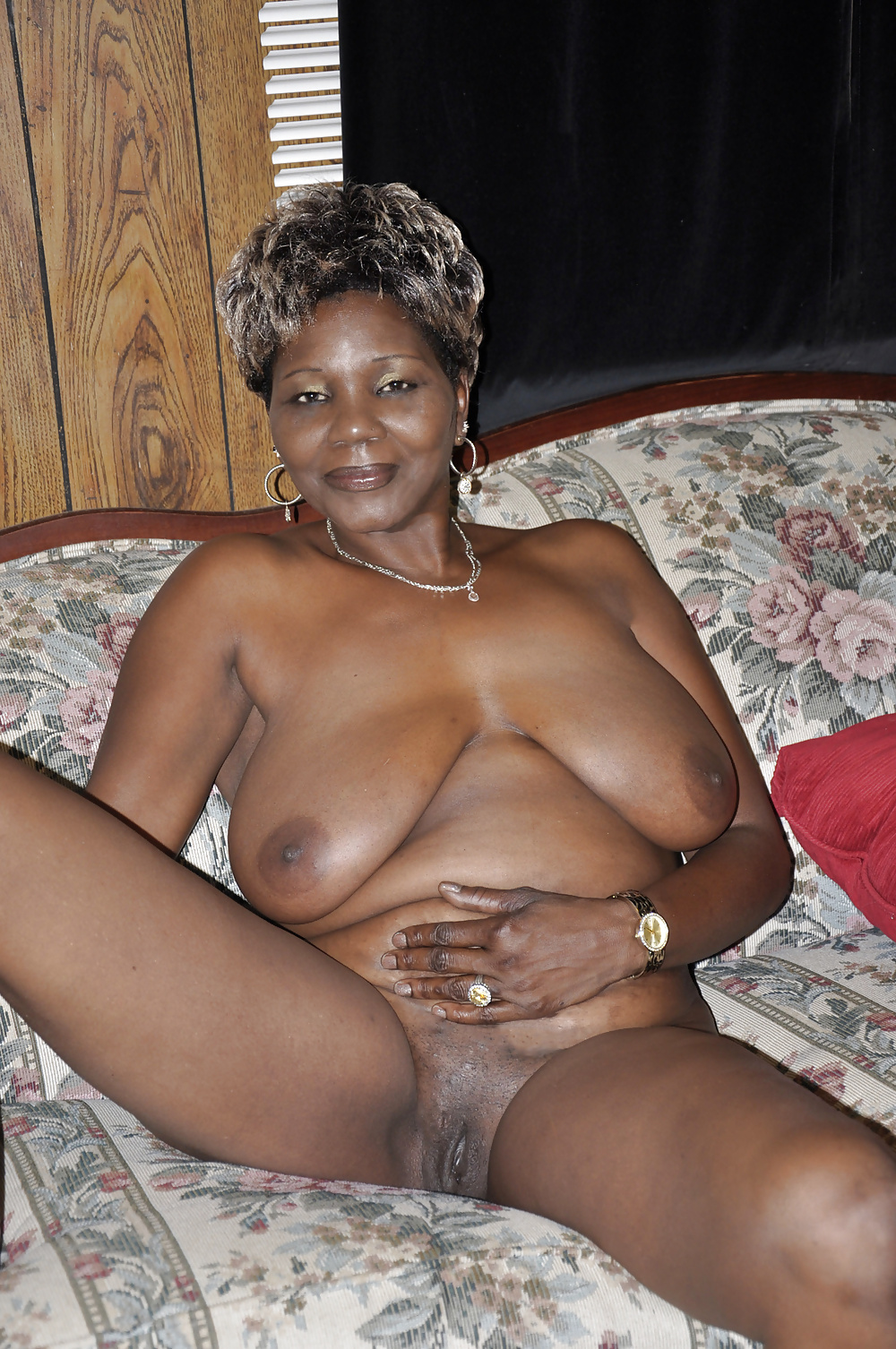 Naked old black women porn