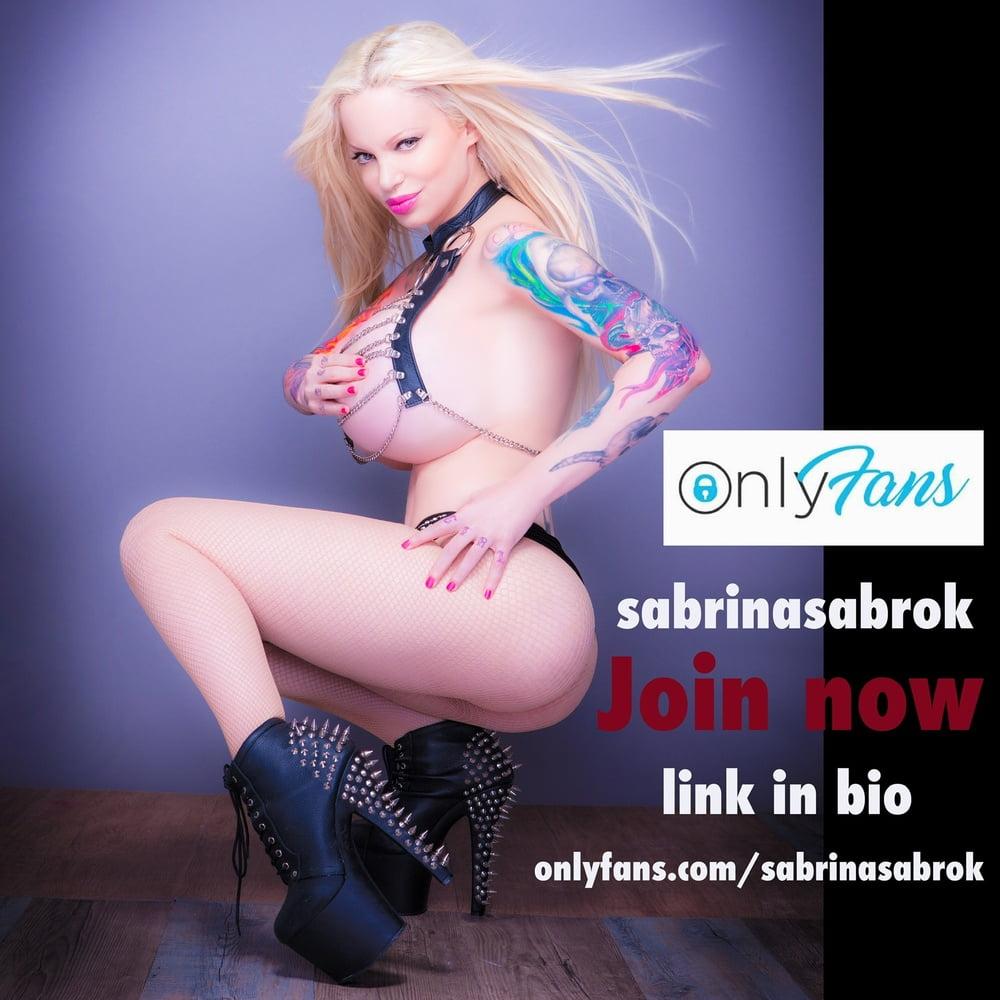 Sabrina Sabrok ONLYFANS - 9 Pics